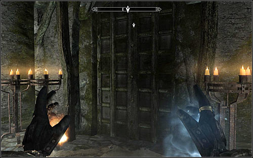 Use the stairs to reach the upper level - Hitting the Books - p. 2 - College of Winterhold quests - The Elder Scrolls V: Skyrim Game Guide