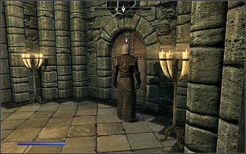 Listen out to a short conversation with Ancano, from which you will learn that a member of the Psijic Order came to the College and wants to speak only with you - Good Intentions - College of Winterhold quests - The Elder Scrolls V: Skyrim Game Guide