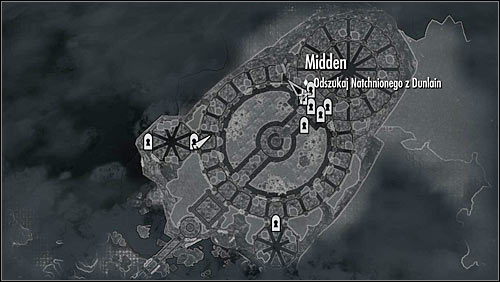 The Midden can be reached by using one of two hatches - Good Intentions - College of Winterhold quests - The Elder Scrolls V: Skyrim Game Guide