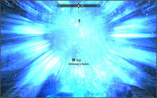 Approach the locked door and dont worry that you dont have a key, as you will be let in after a few seconds - Good Intentions - College of Winterhold quests - The Elder Scrolls V: Skyrim Game Guide