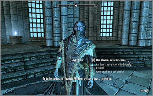 You can leave the Midden either by following the same way or explore the previously ignored right corridor and return to Skyrim after a few minutes of exploration and a couple fights - Good Intentions - College of Winterhold quests - The Elder Scrolls V: Skyrim Game Guide
