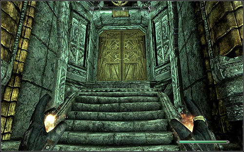 Be careful, as there will be two]Falmers to eliminate here, including one capable of casting spells - Revealing the Unseen - p. 2 - College of Winterhold quests - The Elder Scrolls V: Skyrim - Game Guide and Walkthrough