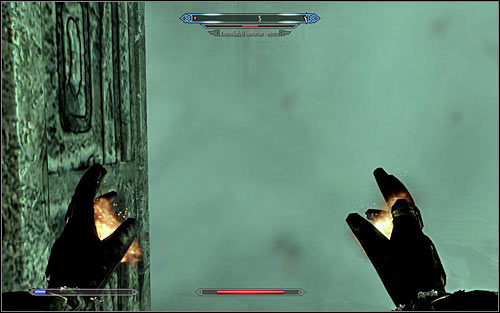 The basic attack of the Centurion implies releasing hot steam, quickly depleting your health - Revealing the Unseen - p. 2 - College of Winterhold quests - The Elder Scrolls V: Skyrim - Game Guide and Walkthrough
