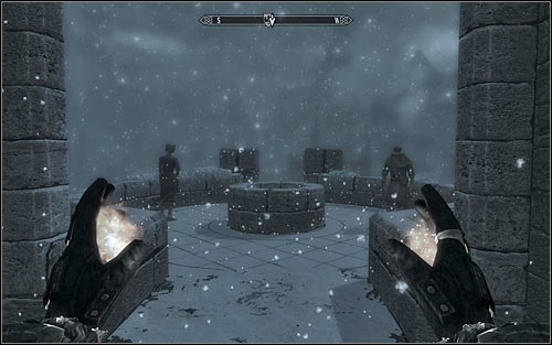 In order to reach Winterhold, you will of course need to use the long bridge connecting it with the College (screen above) - Containment - College of Winterhold quests - The Elder Scrolls V: Skyrim Game Guide
