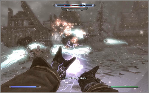 After you reach Winterhold it will turn out that its under attack by a group of 10 Magic Anomalies (screen above) - Containment - College of Winterhold quests - The Elder Scrolls V: Skyrim Game Guide
