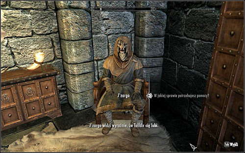 Find Jzargo, one of the College students - JZargos Experiment - College of Winterhold quests - The Elder Scrolls V: Skyrim Game Guide