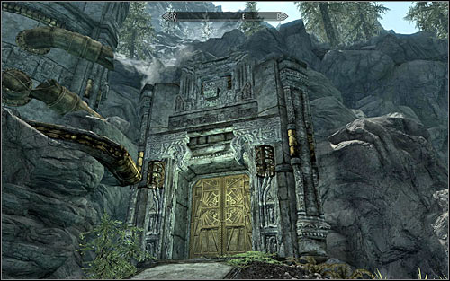 Note that no special marks appeared on your map, as you will have to look for the Dwemer Cogs on your own - Arniels Endeavor - p. 1 - College of Winterhold quests - The Elder Scrolls V: Skyrim - Game Guide and Walkthrough