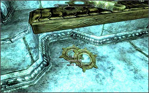 After reaching the ruins of choice, start exploring them with help of Candlelight or other spell of similar effect - Arniels Endeavor - p. 1 - College of Winterhold quests - The Elder Scrolls V: Skyrim - Game Guide and Walkthrough