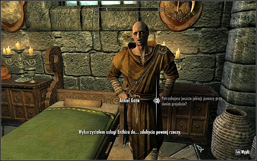 Depending on when you began the first mission for Arniela, you will be able to approach the mage's second quest at once or after a few days have passed - Arniels Endeavor - p. 1 - College of Winterhold quests - The Elder Scrolls V: Skyrim - Game Guide and Walkthrough