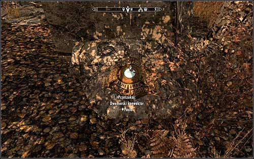 After reaching the chosen location, look for the Dwemer Convectors (screen above) - Arniels Endeavor - p. 1 - College of Winterhold quests - The Elder Scrolls V: Skyrim - Game Guide and Walkthrough
