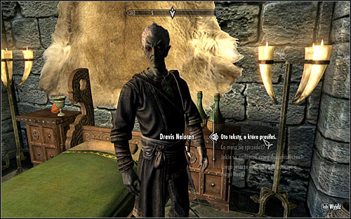 You can now return to Drevis Neloren and give him all the books that you found (screen above) - Illusion Ritual Spell - College of Winterhold quests - The Elder Scrolls V: Skyrim Game Guide