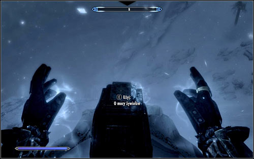 In this case you will have to use an ice spell, for example Frostbite or Ice Spike (Destruction), of course aiming at the book (screen above) - Destruction Ritual Spell - College of Winterhold quests - The Elder Scrolls V: Skyrim - Game Guide and Walkthrough