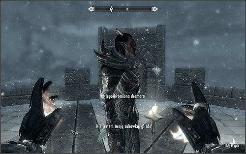 Once again activate the Summon Unbound Dremora and use it (screen above) - Conjuration Ritual Spell - College of Winterhold quests - The Elder Scrolls V: Skyrim Game Guide