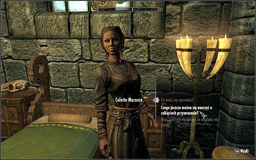 In order to activate this quest, find Colette Marence and ask her if she can teach you anything more about Restoration magic (screen above) - Restoration Ritual Spell - College of Winterhold quests - The Elder Scrolls V: Skyrim Game Guide