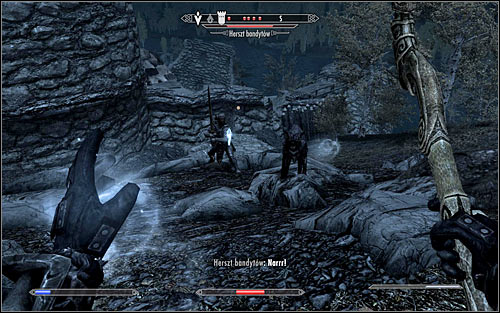 Leave the College of Winterhold, open the world map and head to the marked area - Miscellaneous: Valuable Book Fetching - College of Winterhold quests - The Elder Scrolls V: Skyrim Game Guide