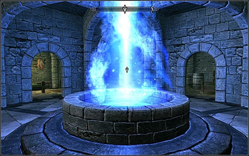 The second focal point is in the middle of the Hall of Attainment (screen above) - Miscellaneous: Out of Balance - College of Winterhold quests - The Elder Scrolls V: Skyrim Game Guide
