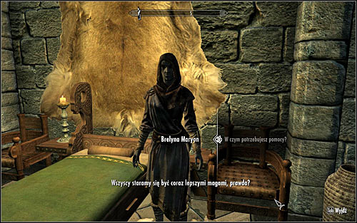 Find Brelyna Maryon, one of the College apprentices - Miscellaneous: Brelynas Practice - College of Winterhold quests - The Elder Scrolls V: Skyrim Game Guide