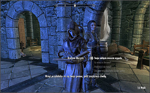 Head to your room and wait for around eight hours for the spell to fade away - Miscellaneous: Brelynas Practice - College of Winterhold quests - The Elder Scrolls V: Skyrim Game Guide