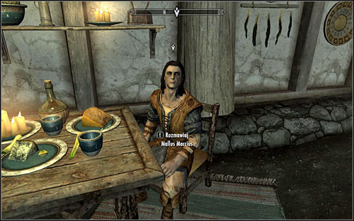 You will find your contact at The Bannered Mare tavern, in the room on the left - Dampened Spirits - Thieves Guild quests - The Elder Scrolls V: Skyrim Game Guide