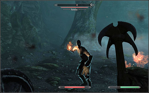 After dealing with the arachnids, head onwards - Dampened Spirits - Thieves Guild quests - The Elder Scrolls V: Skyrim Game Guide