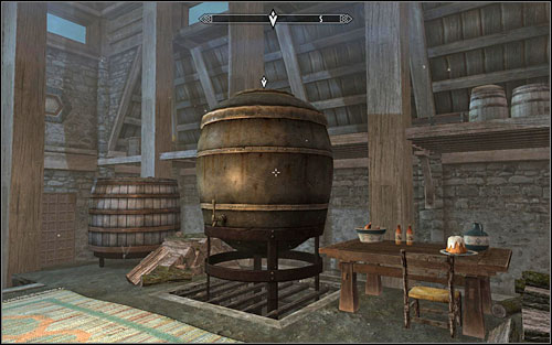 After getting inside Honningbrew Meadery, you should note not only Sabjorn, but also the Guards Captain and Mallus - Dampened Spirits - Thieves Guild quests - The Elder Scrolls V: Skyrim Game Guide