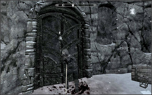 After speaking with Mercer, climb to the top of the Sanctum and go down the stairs to its middle part - Speaking with Silence - Thieves Guild quests - The Elder Scrolls V: Skyrim - Game Guide and Walkthrough