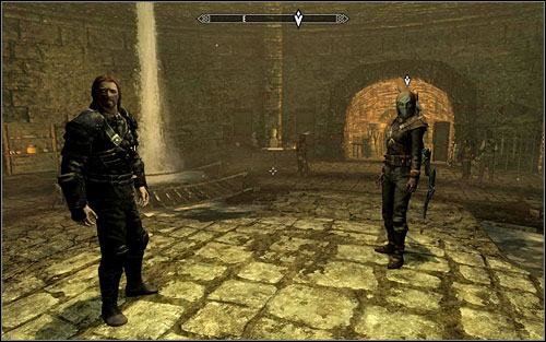 The Guild Leader is a powerful enough enemy that Karliah will accompany during this mission - Trinity Restored - Thieves Guild quests - The Elder Scrolls V: Skyrim Game Guide