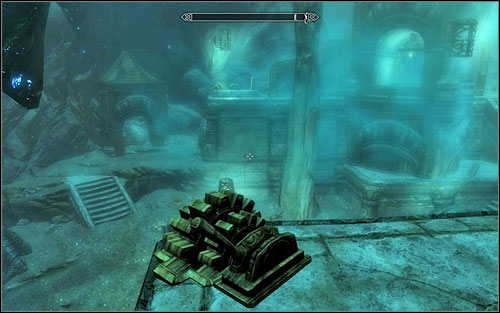 Afterwards open the gate leading to the further part of the underground - it can be done by pulling two levers found on opposite sides of the room (screen above) - Blindsighted - Thieves Guild quests - The Elder Scrolls V: Skyrim Game Guide