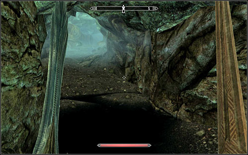 After reaching the corridor, head onwards - Blindsighted - Thieves Guild quests - The Elder Scrolls V: Skyrim Game Guide