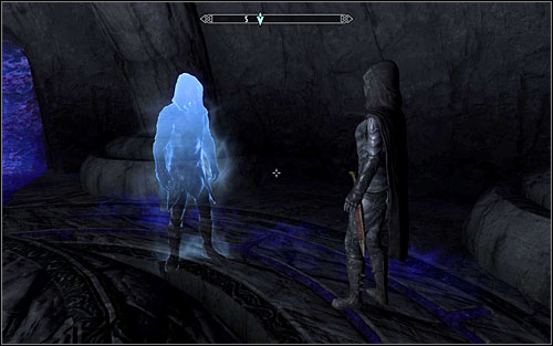 Before leaving the Twilight Sepulcher Inner Sanctum, you will be able to encounter Gallus and Karliah reuniting - Darkness Returns - Thieves Guild quests - The Elder Scrolls V: Skyrim - Game Guide and Walkthrough