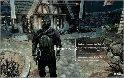 Head to Whiterun and meet with Olfrid Battle-Born - you will probably come across him during one of his walks through the city - City Influence: Whiterun - Imitation Amnesty - Thieves Guild quests - The Elder Scrolls V: Skyrim Game Guide