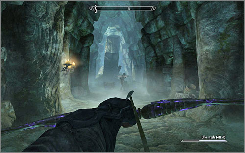 Sooner or later you will reach a steel door leading to Forsaken Crypt - The White Phial | Side quests - Side quests - The Elder Scrolls V: Skyrim Game Guide