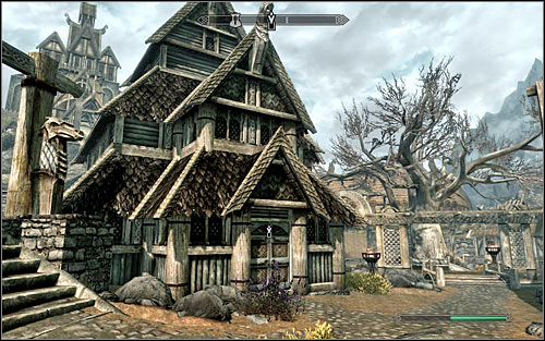 Head out of the inn and search the northern part of Whiterun for Danica Pure-Spring - The Blessings of Nature | Side quests - Side quests - The Elder Scrolls V: Skyrim Game Guide