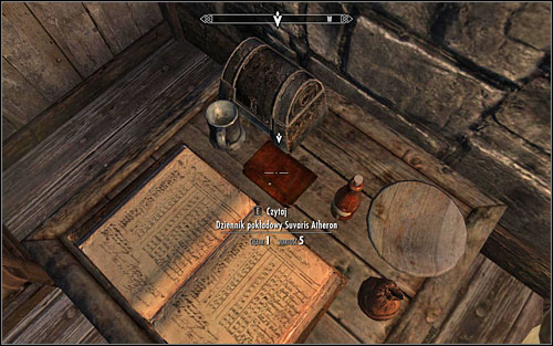 Head inside and go to the furthest part of the ground floor - Rise in the East - p. 1 | Side quests - Side quests - The Elder Scrolls V: Skyrim Game Guide
