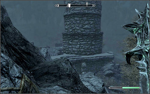 Its a much better idea to reach the keep by staying on the surface - Infiltration | Side quests - Side quests - The Elder Scrolls V: Skyrim Game Guide