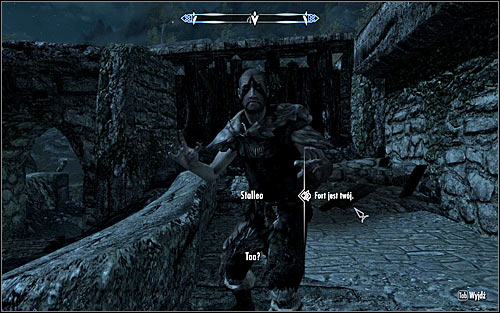 The game will force you to kill those enemies on the courtyard and local walls and its another reason not to go tunnel - Infiltration | Side quests - Side quests - The Elder Scrolls V: Skyrim Game Guide