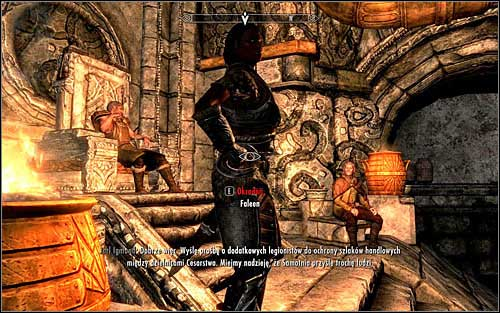 Faleen should by default be found at the Understone Keep, guarding the local Jarl (screen above) - The Book of Love | Side quests - Side quests - The Elder Scrolls V: Skyrim Game Guide