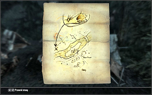 3 - Treasure Maps (I) | Side quests - Side quests - The Elder Scrolls V: Skyrim Game Guide