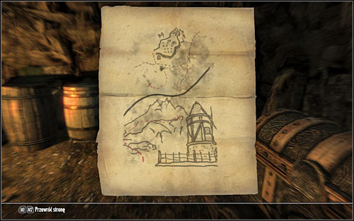 2 - Treasure Maps (IV-V) | Side quests - Side quests - The Elder Scrolls V: Skyrim Game Guide