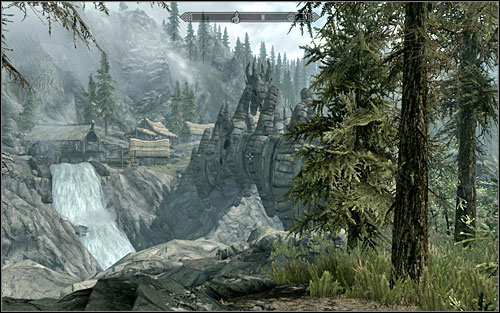 Of course if you don't want to look for the bag, you can ignore it completely and open the chest with picklocks - The Great Skyrim Treasure Hunt (VIII-X) - Side quests - The Elder Scrolls V: Skyrim - Game Guide and Walkthrough