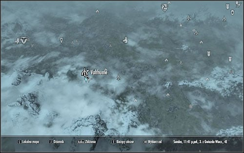 As you travel to the south-west part of Skyrim, visit Valthume, where Hevnoraak is hiding - Dragon Priests Masks | Side quests - Side quests - The Elder Scrolls V: Skyrim Game Guide