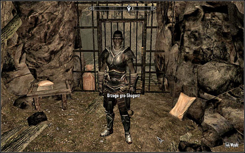 After you listen to what the guard has to say, you will let into the mine - No-one Escapes Cidhna Mine - p. 1 | Side quests - Side quests - The Elder Scrolls V: Skyrim Game Guide