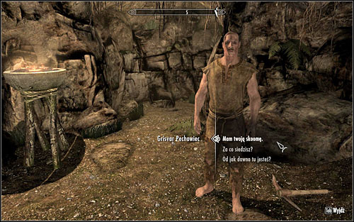 Give Grisvar the alcohol and you will receive the Shiv - a weapon used by the prisoners of Cidhna Mine - in return - No-one Escapes Cidhna Mine - p. 1 | Side quests - Side quests - The Elder Scrolls V: Skyrim Game Guide