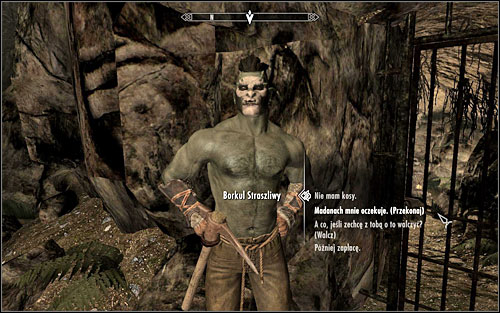 Regardless of which option you choose, you will eventually reach the man youre looking for - No-one Escapes Cidhna Mine - p. 1 | Side quests - Side quests - The Elder Scrolls V: Skyrim Game Guide