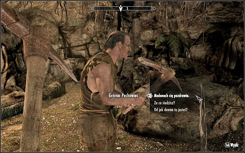 After killing him, you can return to Madanach - No-one Escapes Cidhna Mine - p. 2 | Side quests - Side quests - The Elder Scrolls V: Skyrim Game Guide