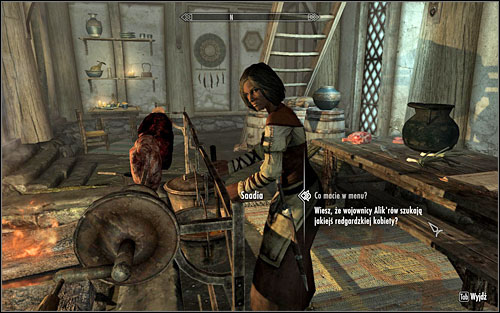 Follow Saadia onto the upper floor of the inn - In my Time of Need | Side quests - Side quests - The Elder Scrolls V: Skyrim Game Guide
