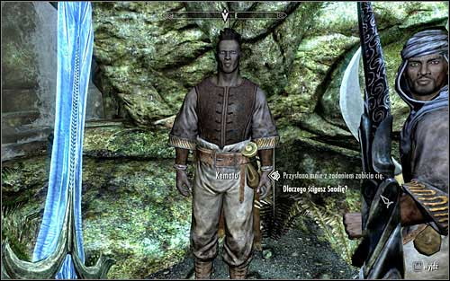 Approach the Alikr leader and speak to him - In my Time of Need | Side quests - Side quests - The Elder Scrolls V: Skyrim Game Guide