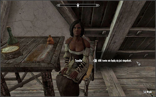 Alikrs who are looking for Saadia can be found in Rorikstead, at The Bannered Mare inn - In my Time of Need | Side quests - Side quests - The Elder Scrolls V: Skyrim Game Guide