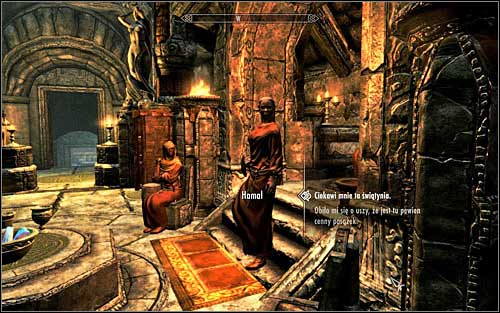 If you dont want to steal the statue for Degaine, if you already stole it and took back to him or were caught red-handed, you will need to speak with sister Hamal in the Sanctum (screen above) - The Heart of Dibella | Side quests - Side quests - The Elder Scrolls V: Skyrim Game Guide