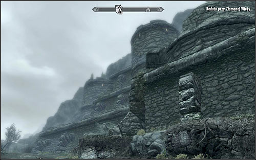 After reaching the ruined keep (screen above), you should start by dealing with the Forsworn outside of it, especially looking out for the archers occupying the upper walls - The Heart of Dibella | Side quests - Side quests - The Elder Scrolls V: Skyrim Game Guide
